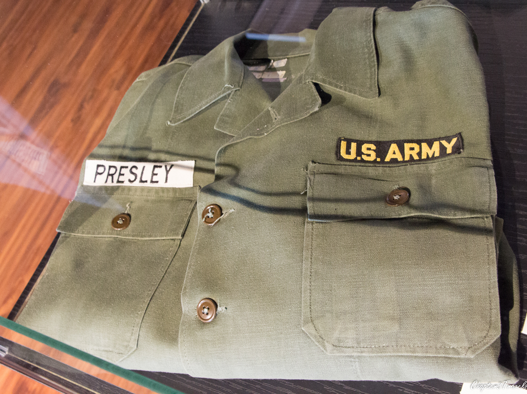 U.S. Army shirt with Presley patch