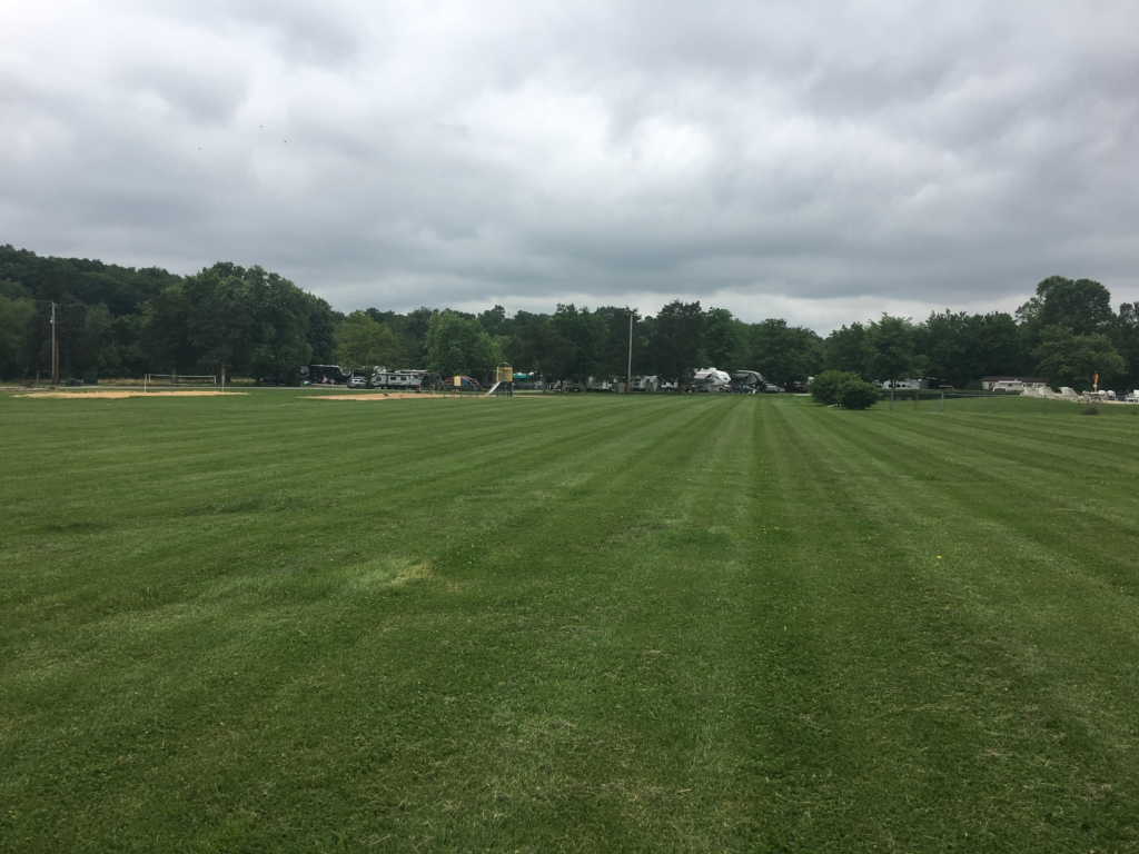 Large field at Gettysburg Farm