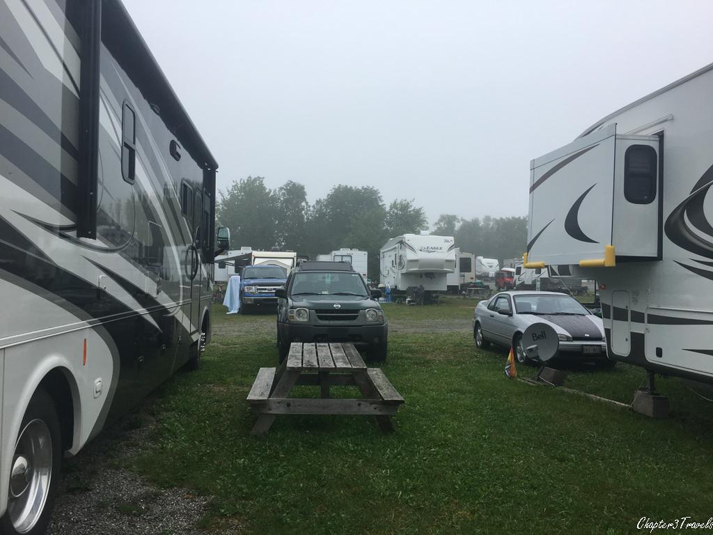 Campsites at Kiwanis Oceanfront Camping in Saint Andrews