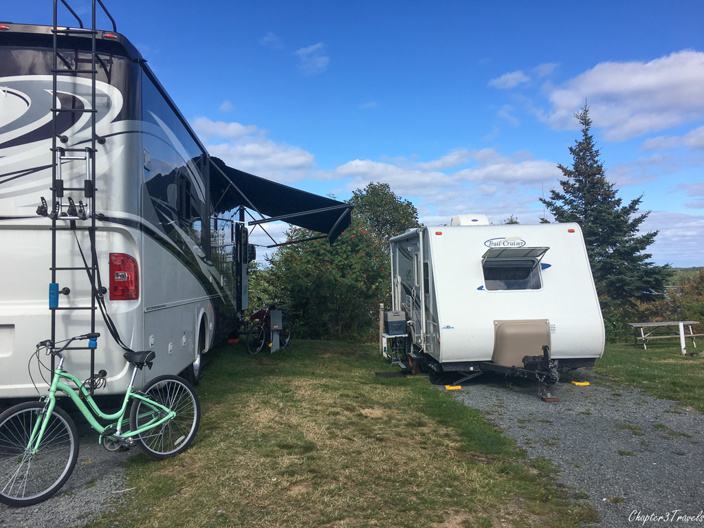 Campsites at Lunenburg Board of Trade Campground