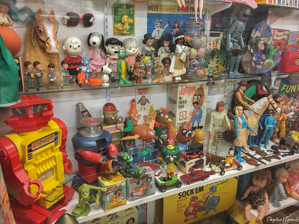 Toys at the Vermont Toy Museum