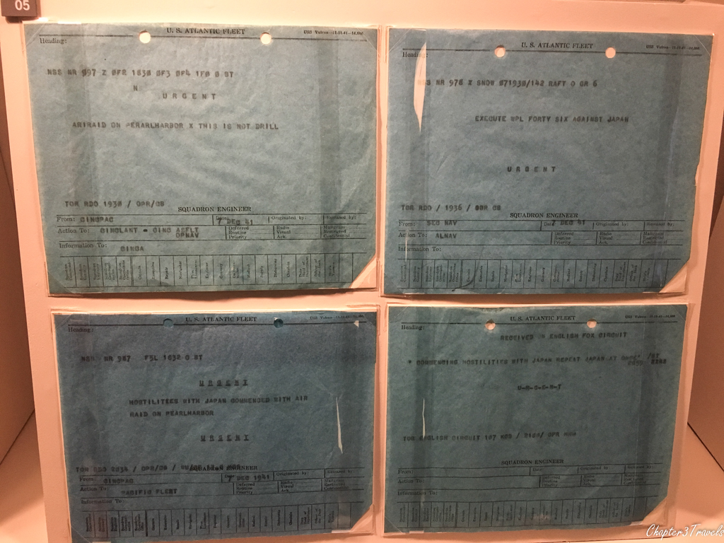 Telegrams sent out to notify military of attack on Pearl Harbor