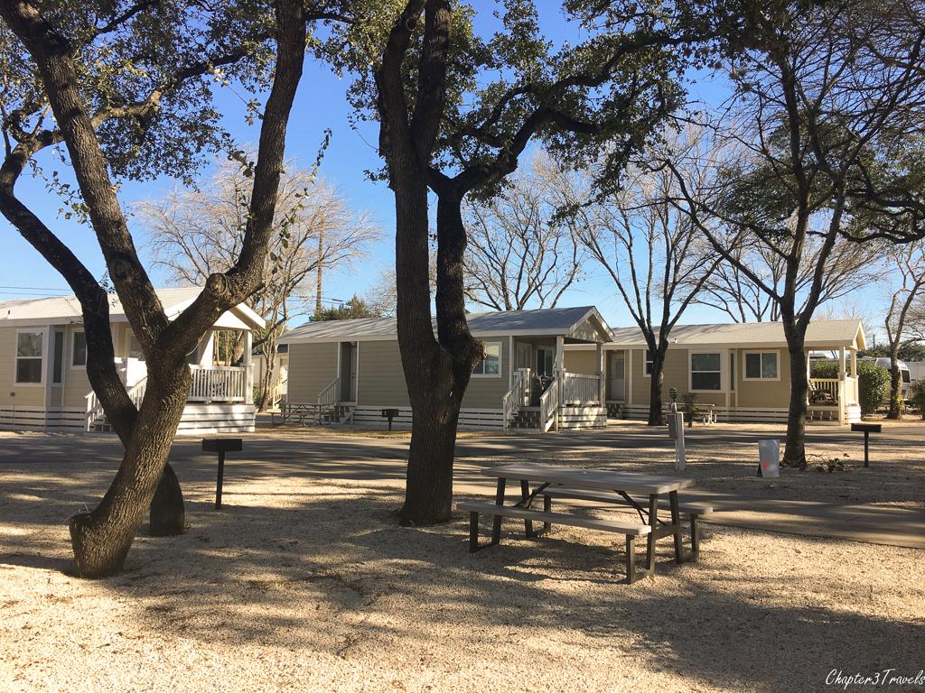 Austin Lone Star RV Park in Austin, Texas