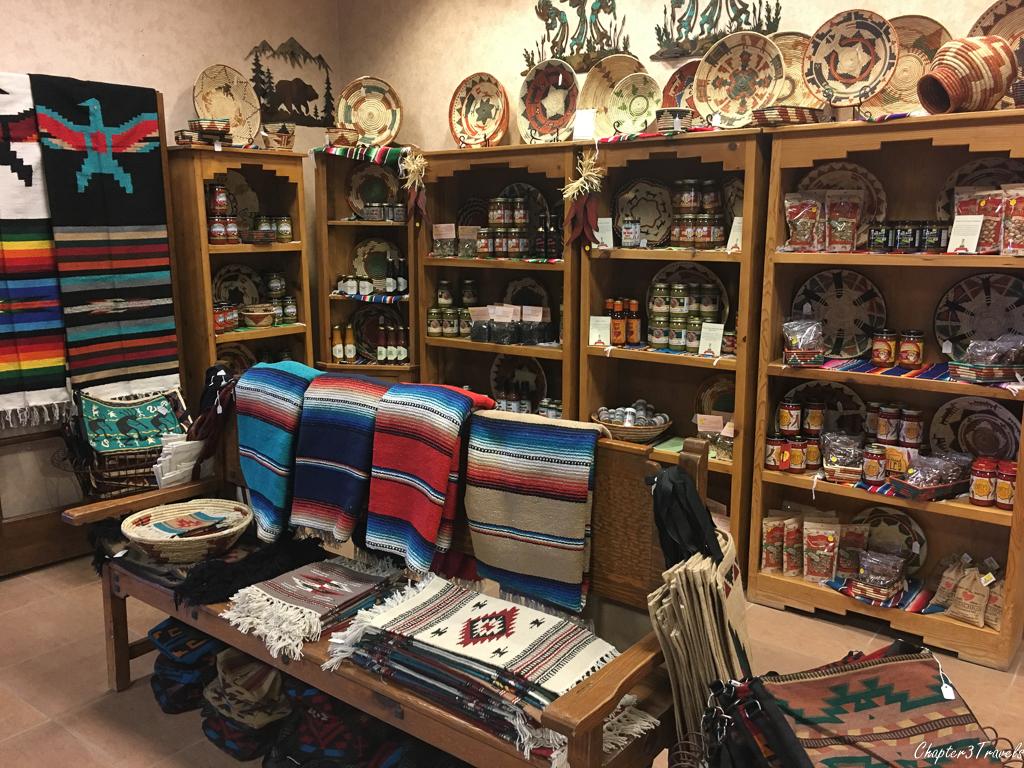 The gift shop at Hacienda RV Resort