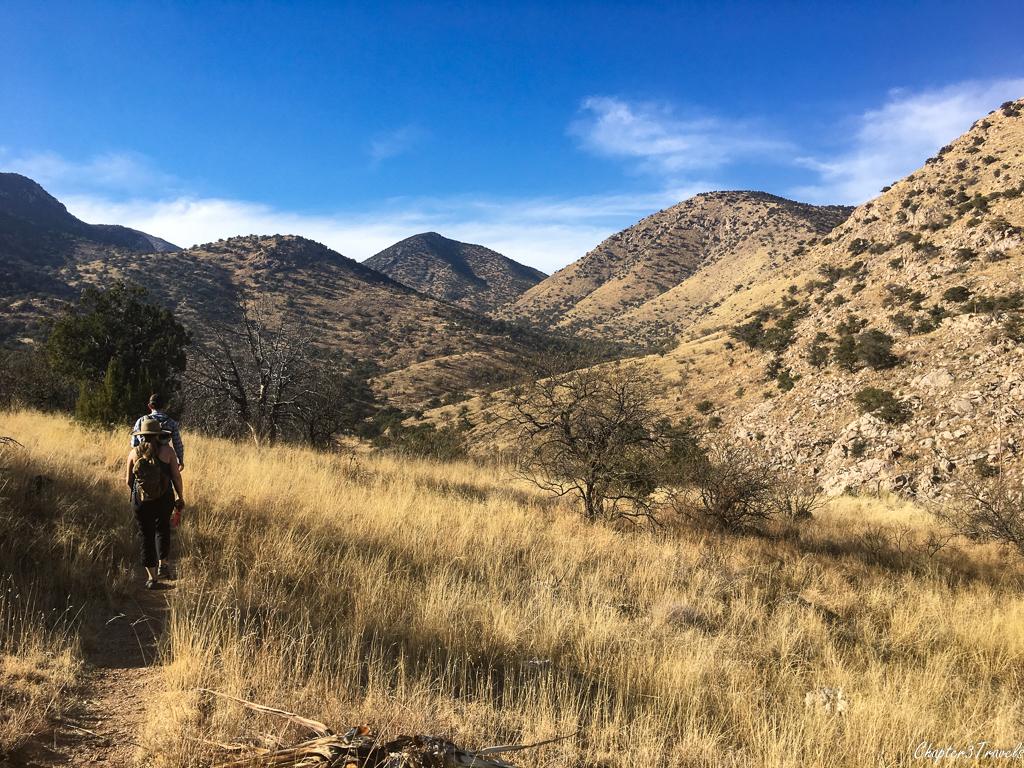 Hiking at Kartchner Caverns State Park in Benson, Arizona