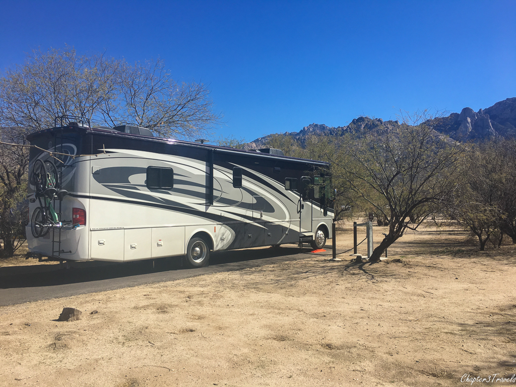 Site 40A at Catalina State Park in Tucson, Arizona