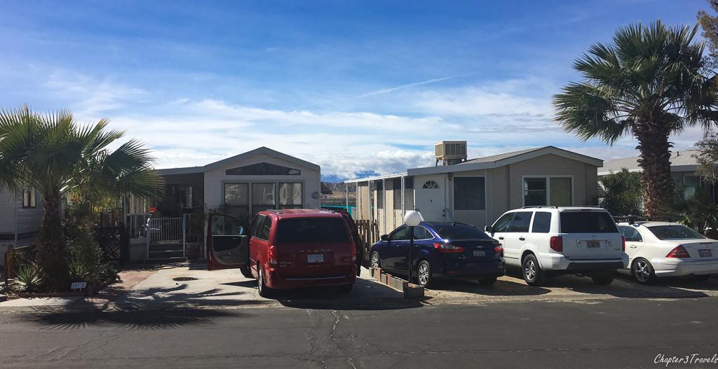 Houses at Sky Valley Resort in Desert Hot Springs, California