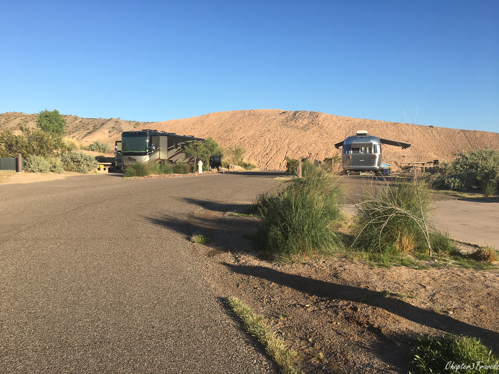 Campsites at Willow Beach Marina and Campground