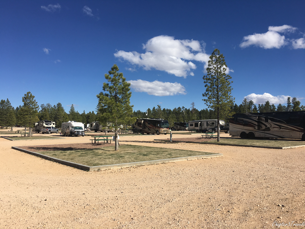 Campsites at Ruby's Inn RV Park and Campground