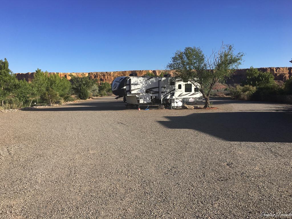 Cadillac Ranch RV Park in Bluff, Utah