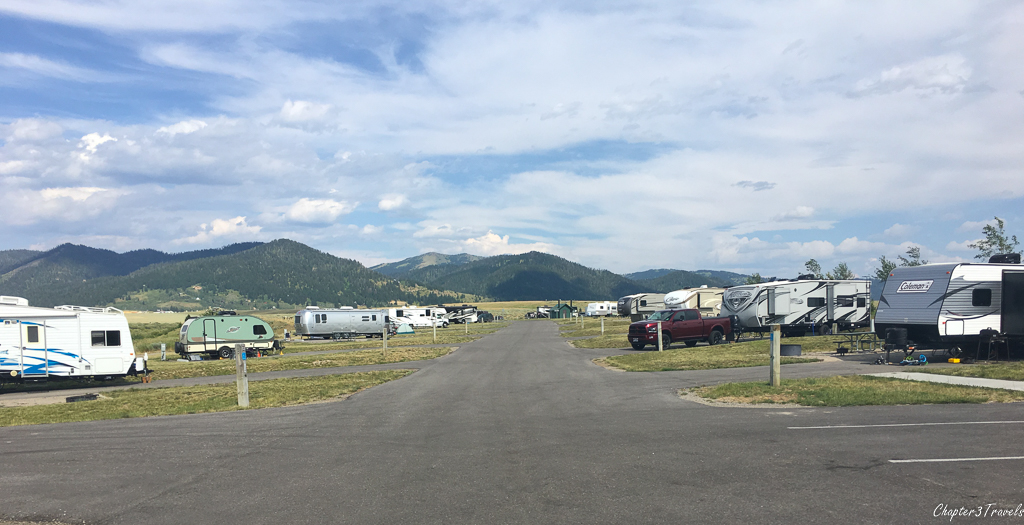 Henrys Lake Campground