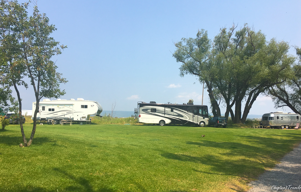 Jolley Camper RV Park in Ashton, Idaho