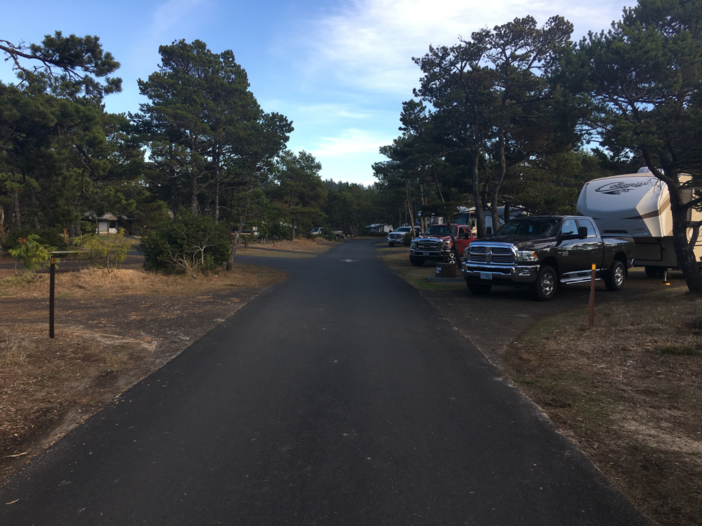 South Beach State Park campground