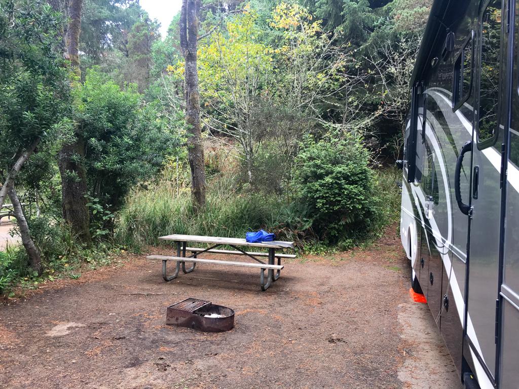 Bullards Beach campground