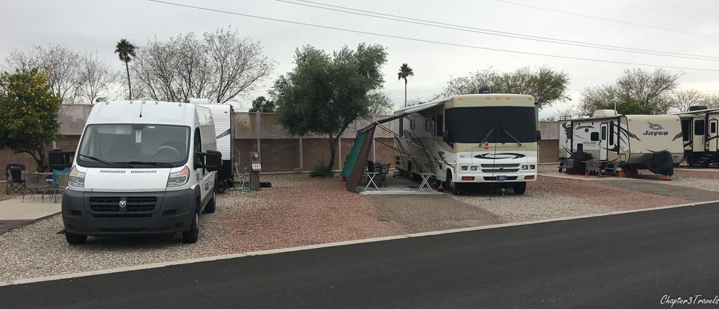 Tucson Lazydays KOA campsites