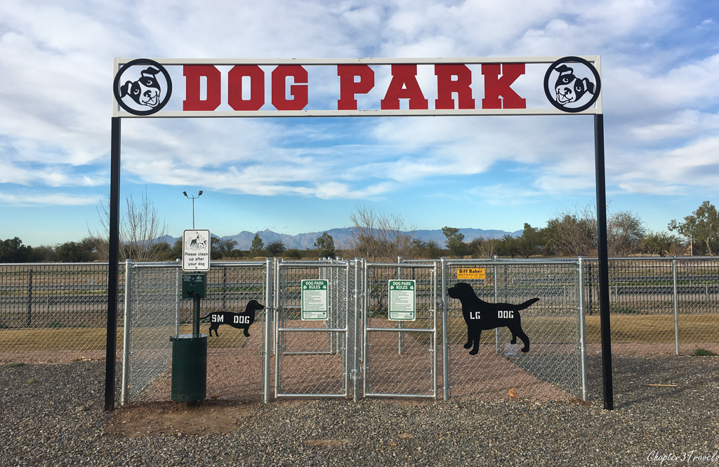 The Pima County Fairgrounds RV Park in Tucson, Arizona