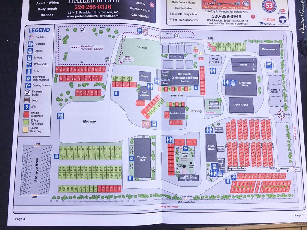 Pima County Fairgrounds map