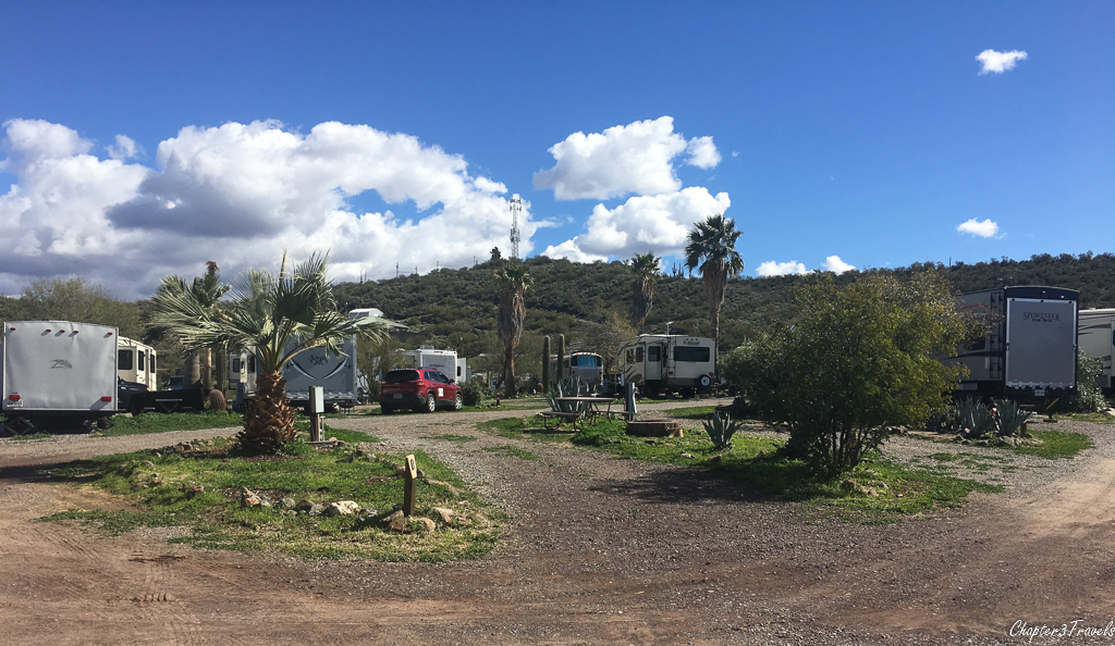 Campsites at Black Canyon Campground