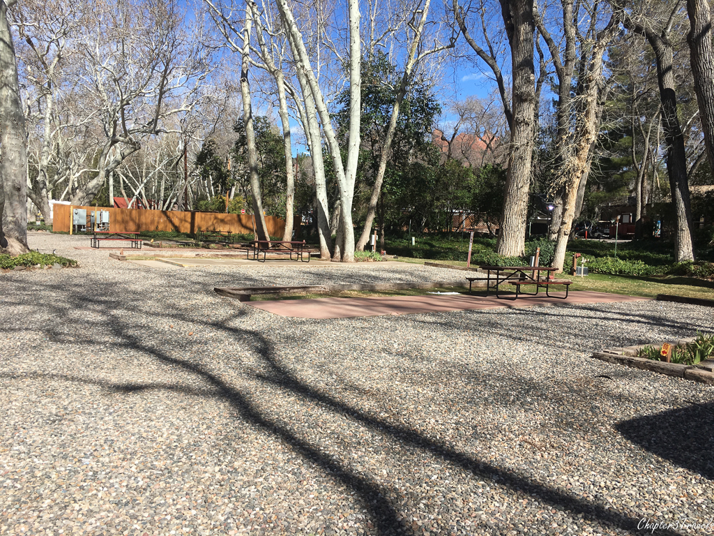 Campsites at Rancho Sedona