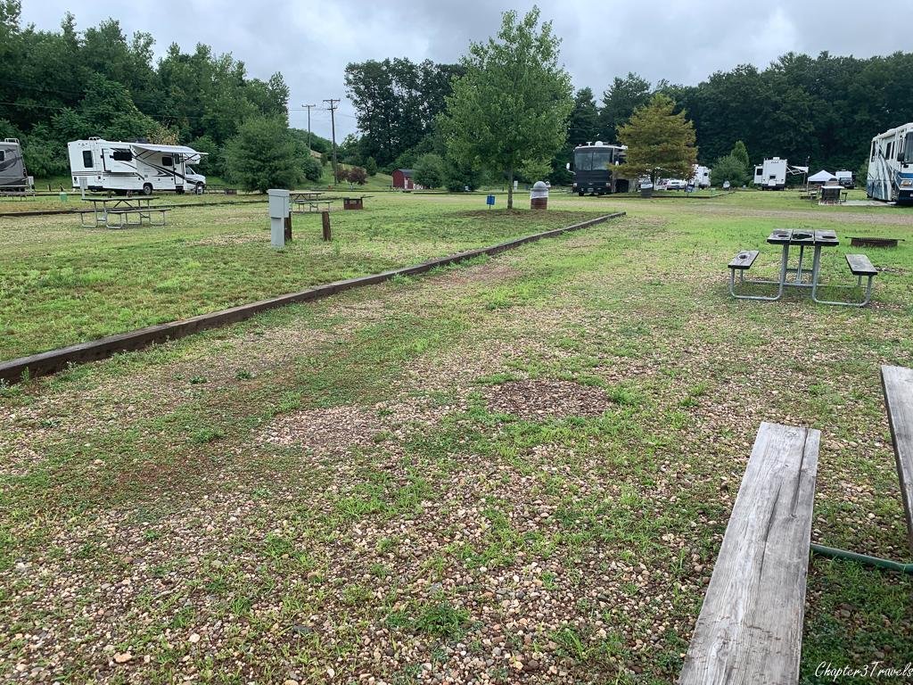 Bear Creek Campground in Bristol, Connecticut