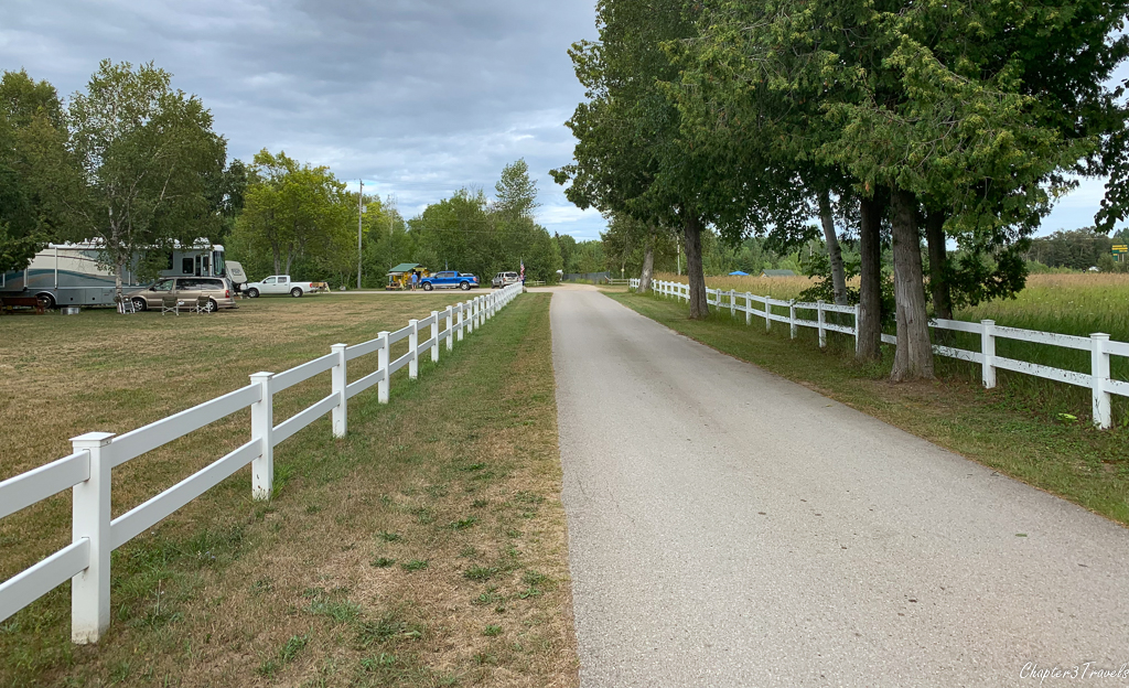 Mackinaw City Campground in Mackinaw City, Michigan
