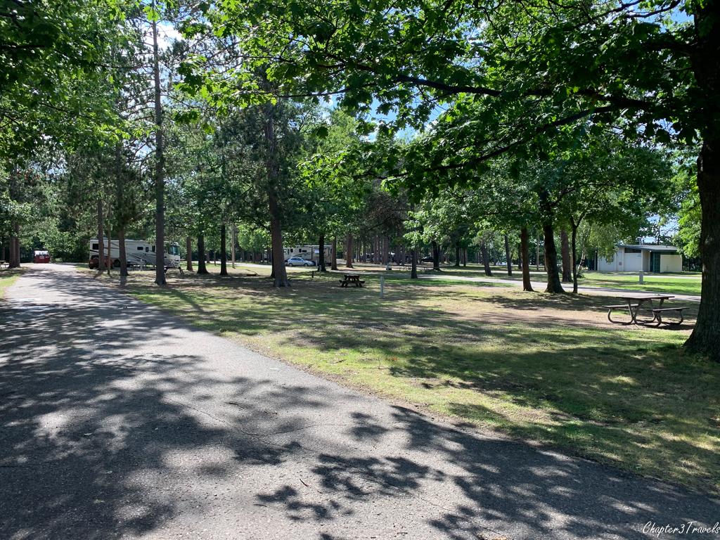 Marquette Tourist Park, Marquette, Michigan