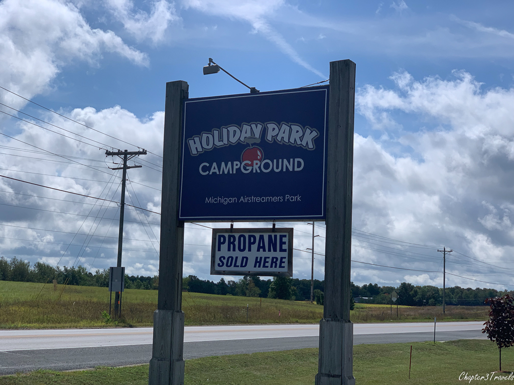 Holiday Park Campground in Traverse City, Michigan