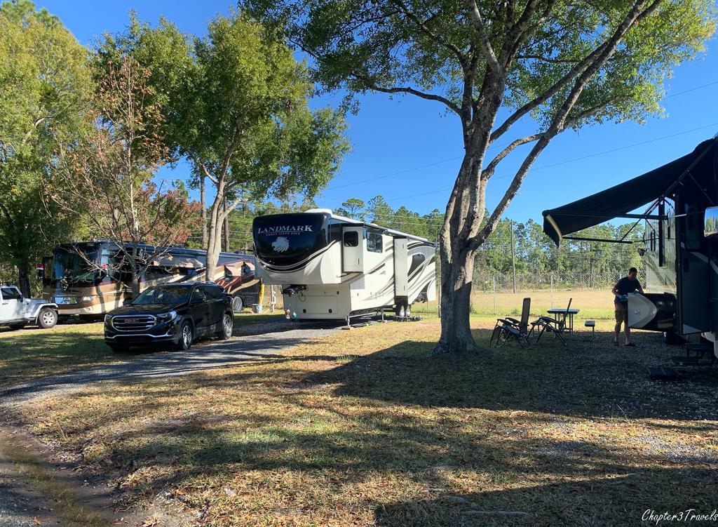 Stagecoach RV Park, St. Augustine, Florida