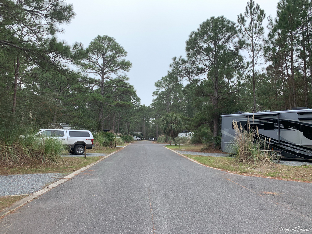 Topsail Hill Preserve State Park campground