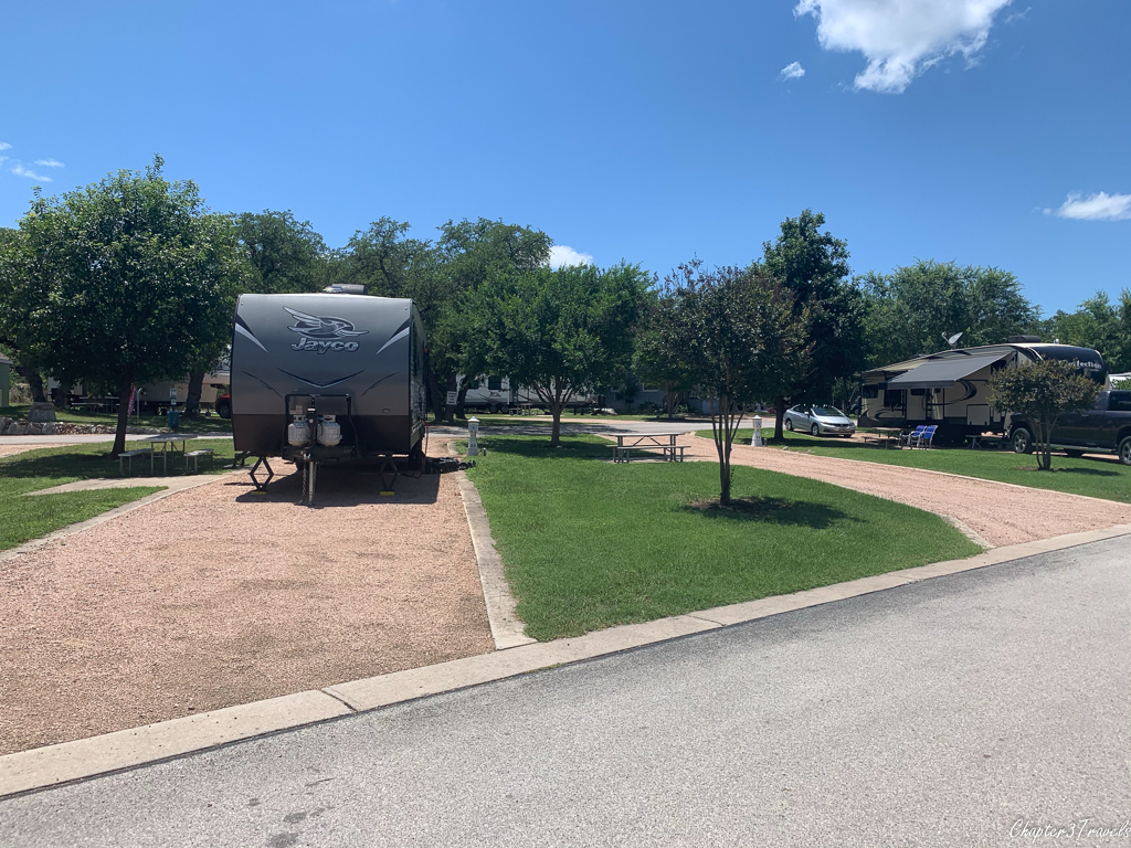 La Hacienda RV resort in Austin, Texas
